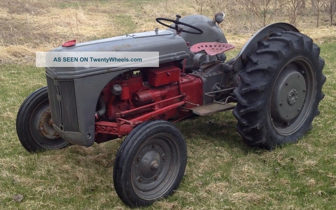1946 8n Ford Tractor : Ford tractor