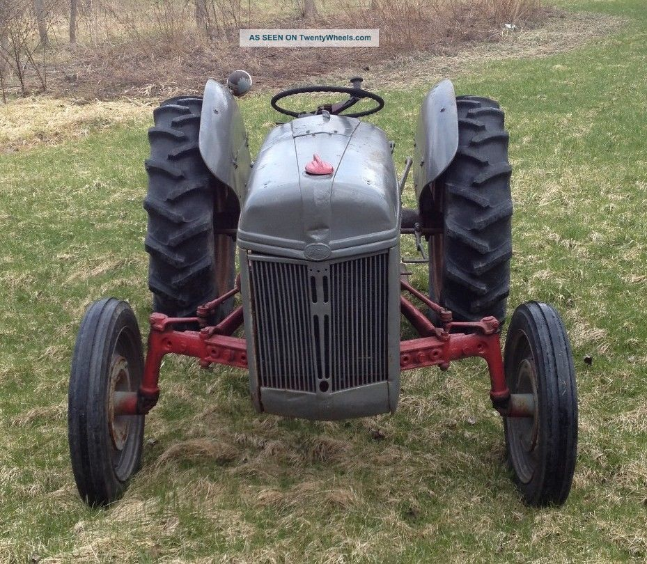 9n Ford Tractor For Sale: 1946 Ford 9n Farm Tractor All Has All Tires