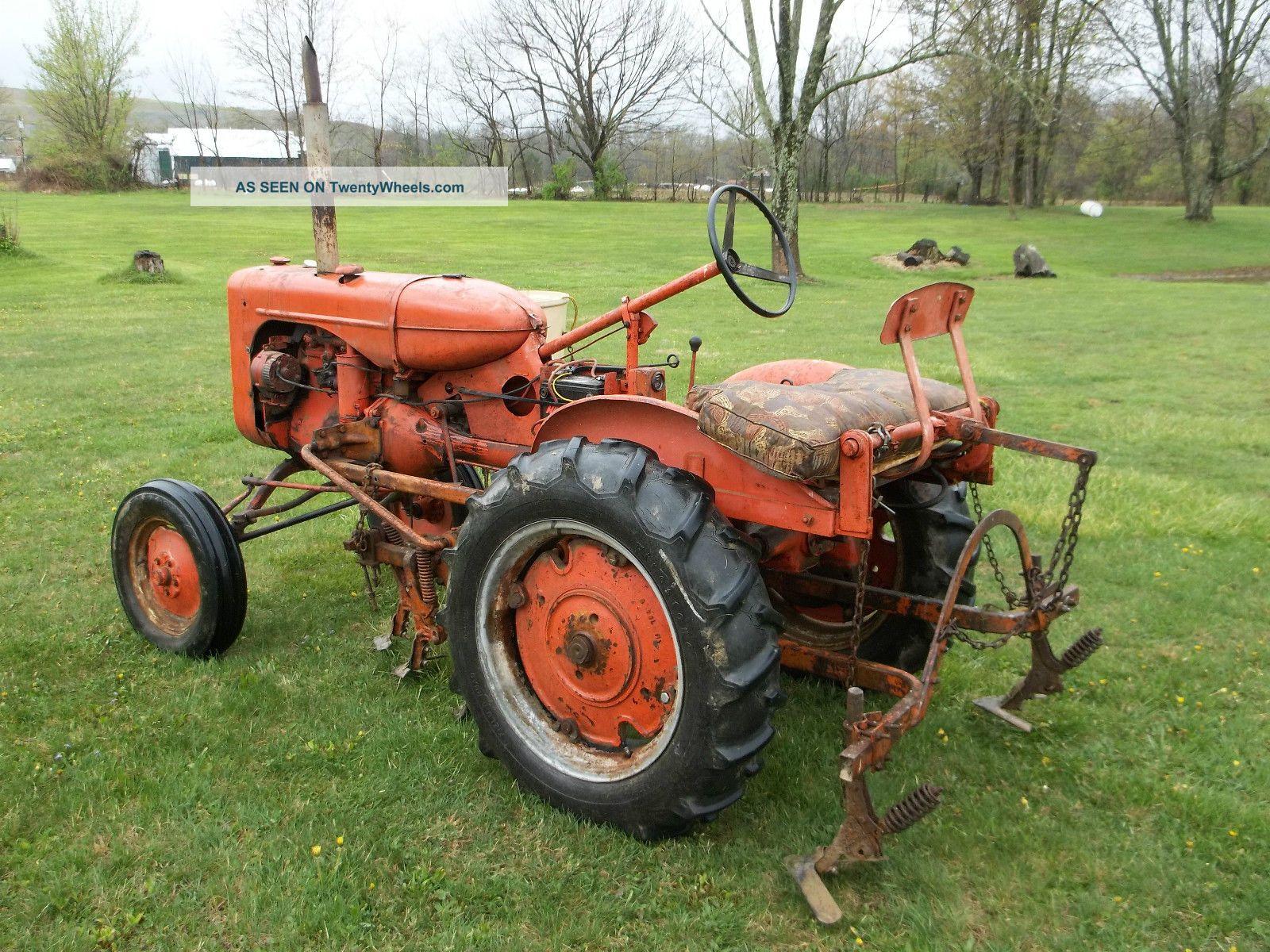 Allis Chalmers Ca Tractor Cultivators Side Dresser Lgw
