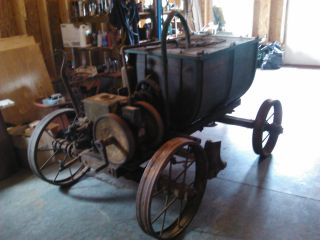 Farm Truck Engine >> Rare Barn Fresh Bean Special Cub Sprayer With Cushman Hit