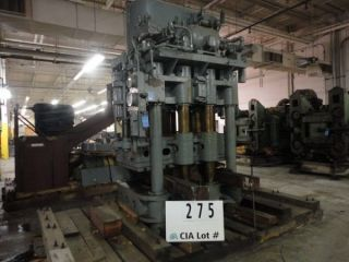 900 Ton Birdsboro 4 - Post Down - Acting Hydraulic Press - 27135 photo