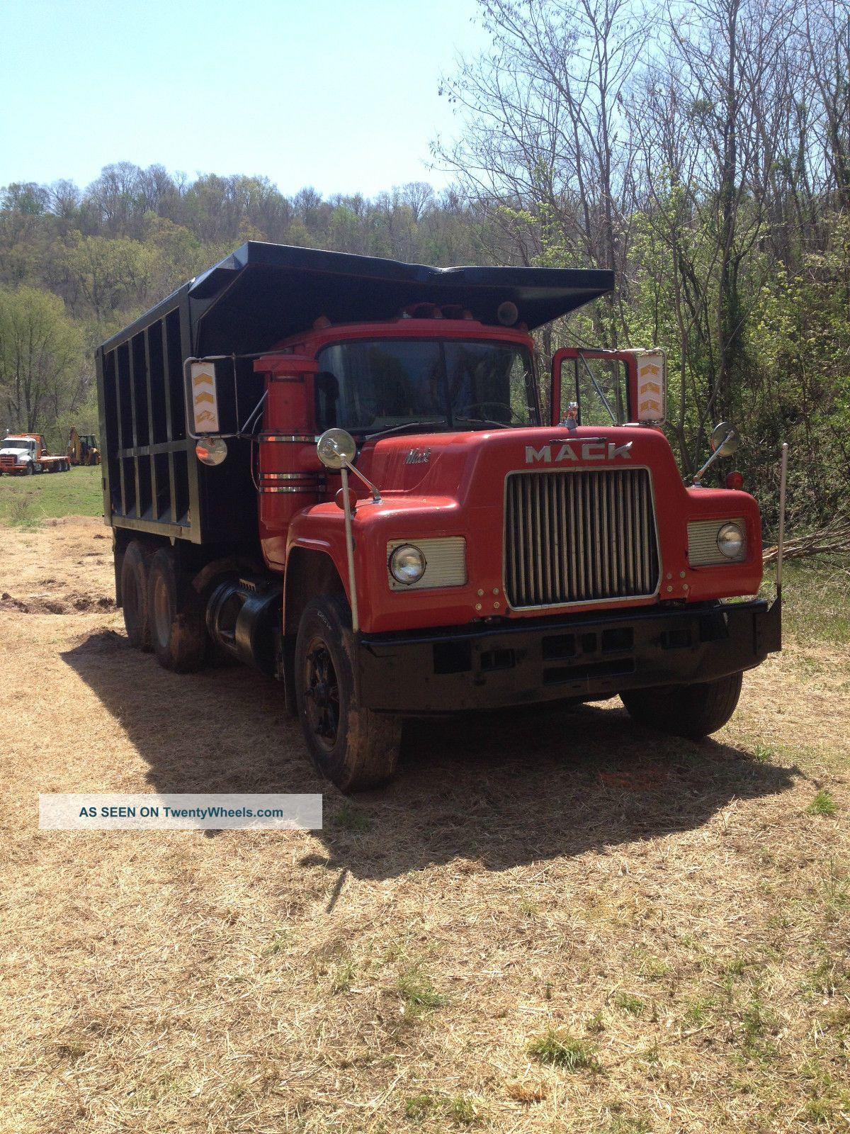 1985 Mack Truck : Mack r