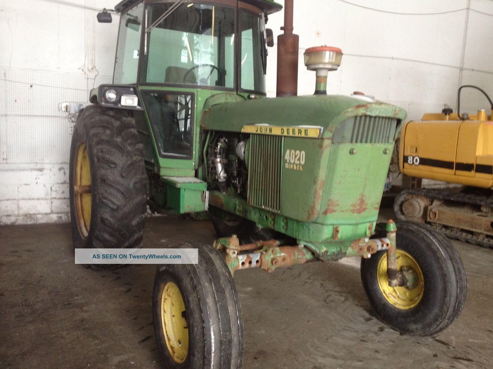Rare John Deere Tractors : Rare john deere diesel with sound guard cab