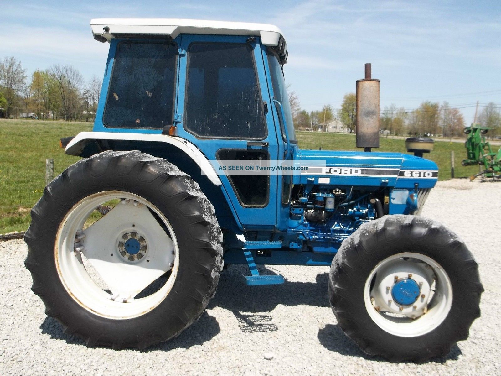 Ford Tractor Airplane : Great shape ford tractor cab diesel air