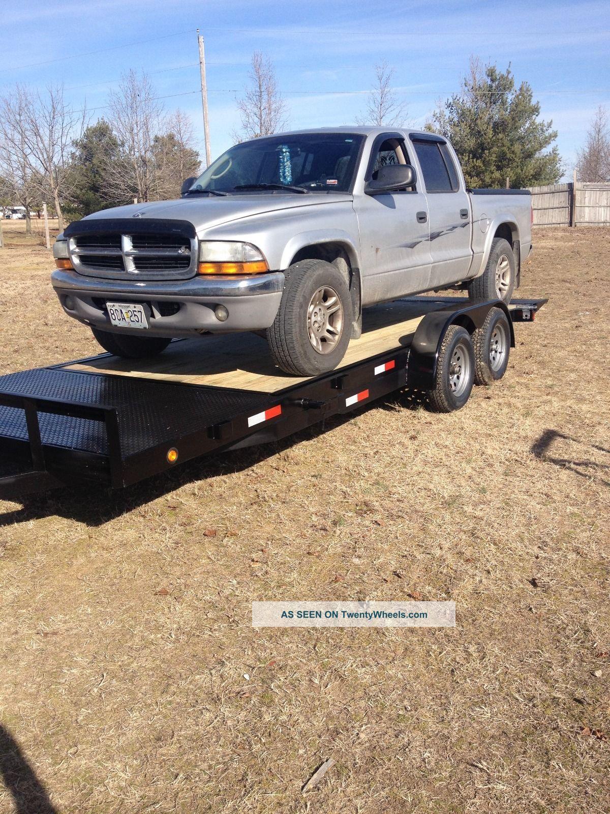 Lift Bed Trailer : K tilt bed splitdeck car or equipment trailer