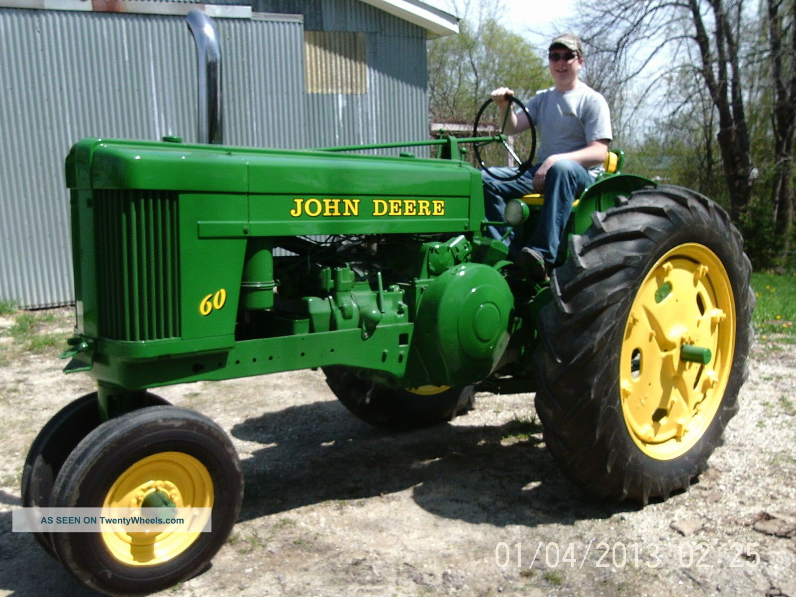 John Deere Tractor Shows : John deere show and parade quality tractor