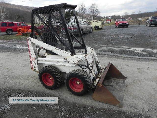 Bobcat Mini Skid Steer : Bobcat m  skid steer loader mini
