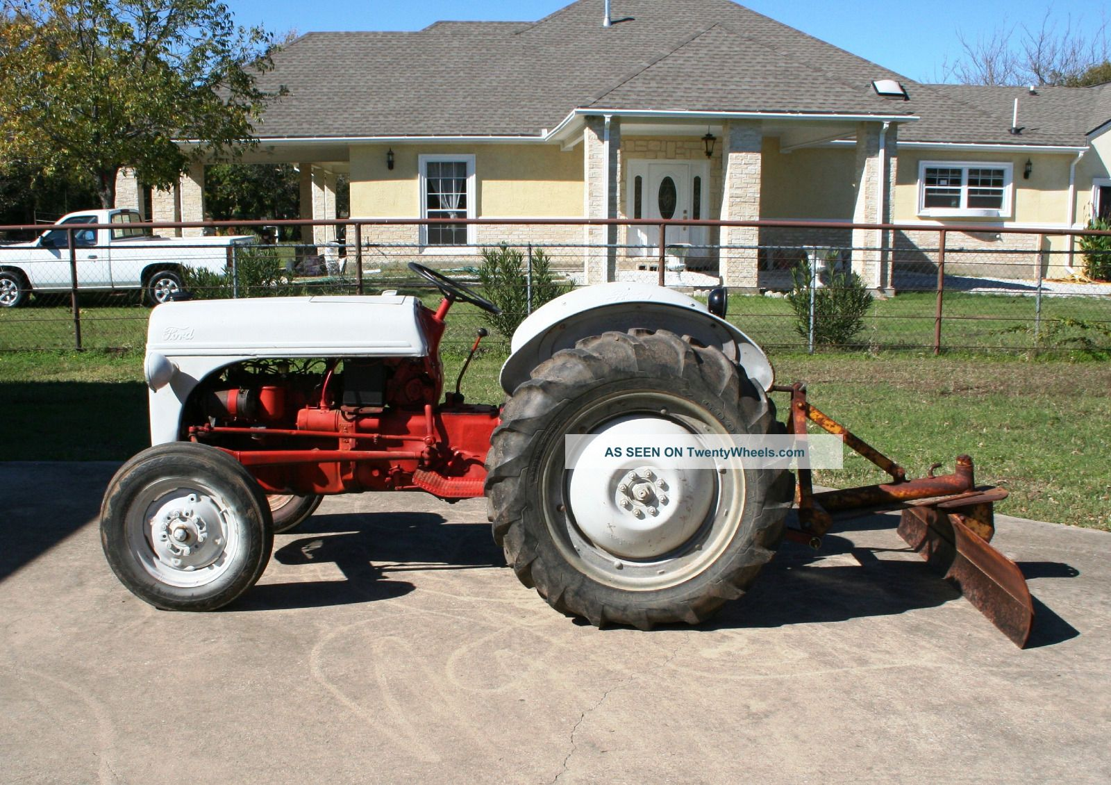 1950 Ford Tractor Tractor Vermilion : N ford tractor