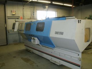 Clausing Metosa Flatbed Cnc Latheturning Center Fagor 8055 Aloris Tool Post ' 02 photo