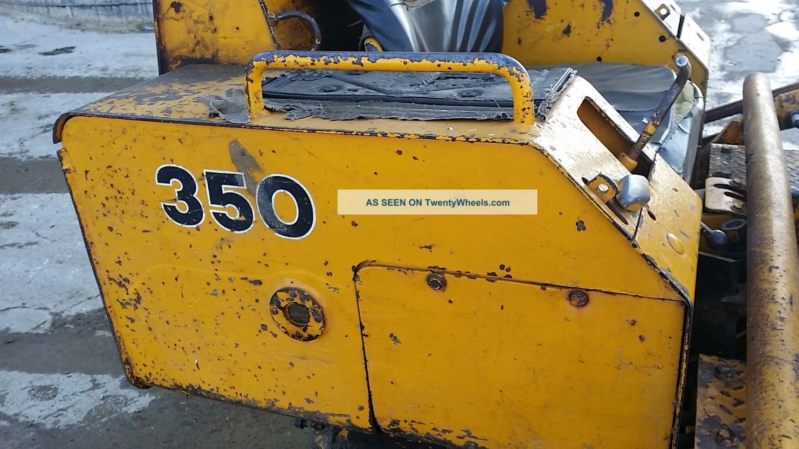 1970 John Deere 350 Track Crawler Dozer Construction Machine