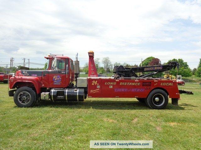 1996 Mack Rd690t Heavy Duty Wrecker Tow Truck