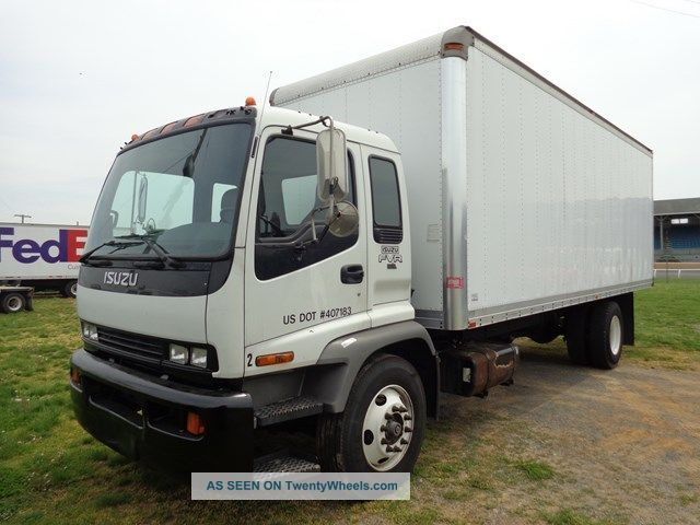 Isuzu Npr For Sale Craigslist >> Isuzu Fvr 24ft Box Truck Turbo Diesel Box Trucks / Cube Vans photo Images - Frompo