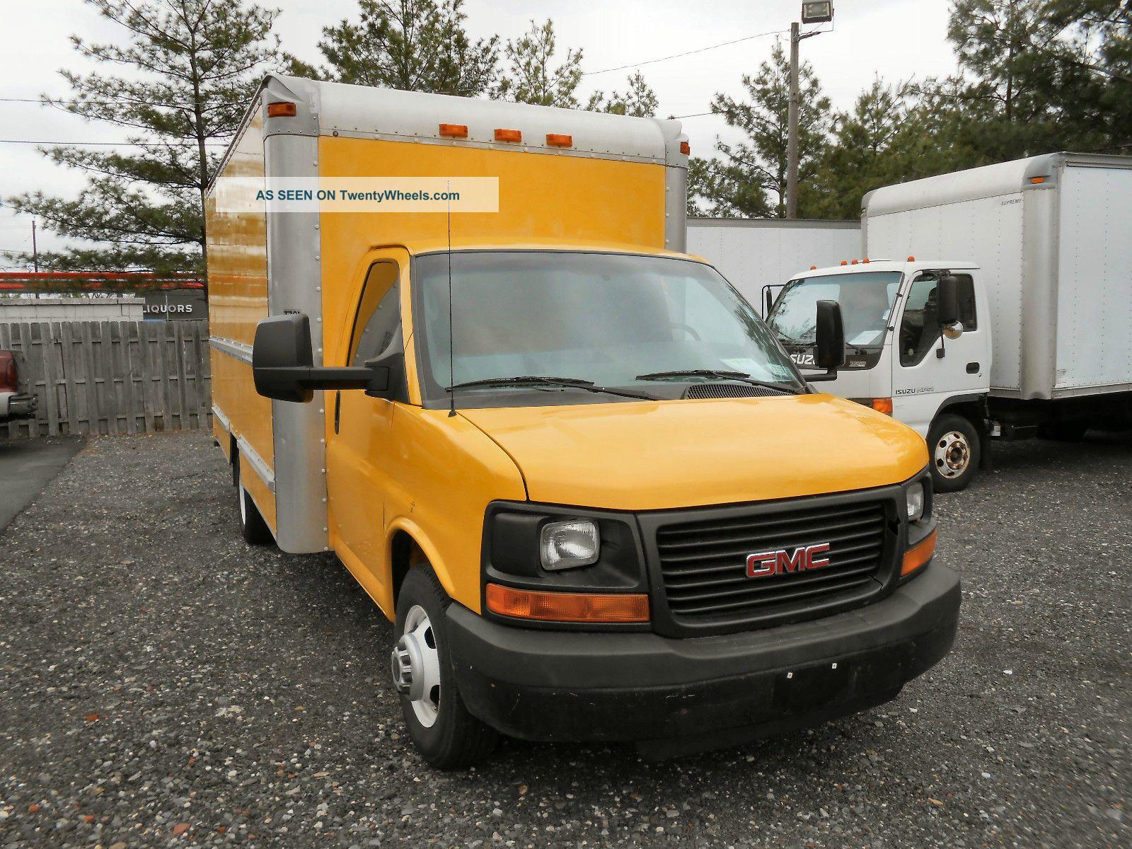2006 gmc savana 3500 box truck