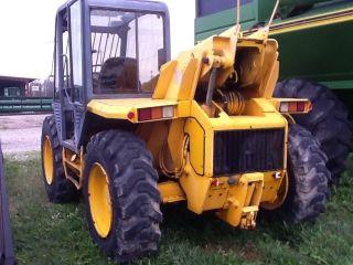 Jcb 505 - 19 4x4 Telehandler Forklift photo