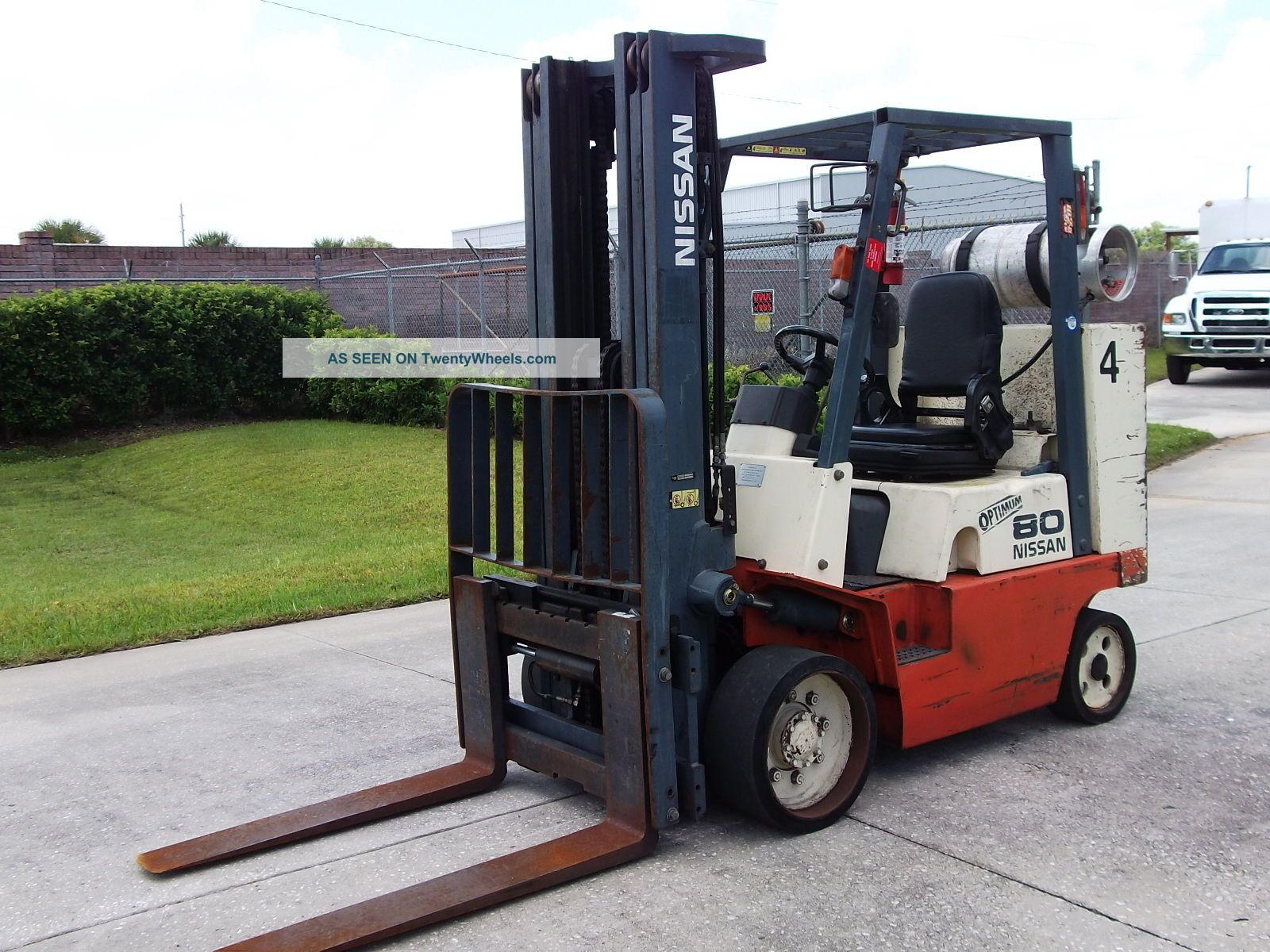 Download Nissan Optimum 50 Forklift Manual