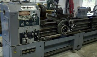 Sharp 2100 X 100 Lathe photo