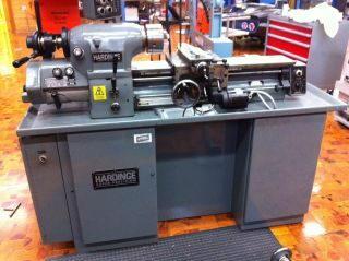 Hardinge Hlv - H Precision Toolroom Lathe 480v 3 Phase 1hp photo