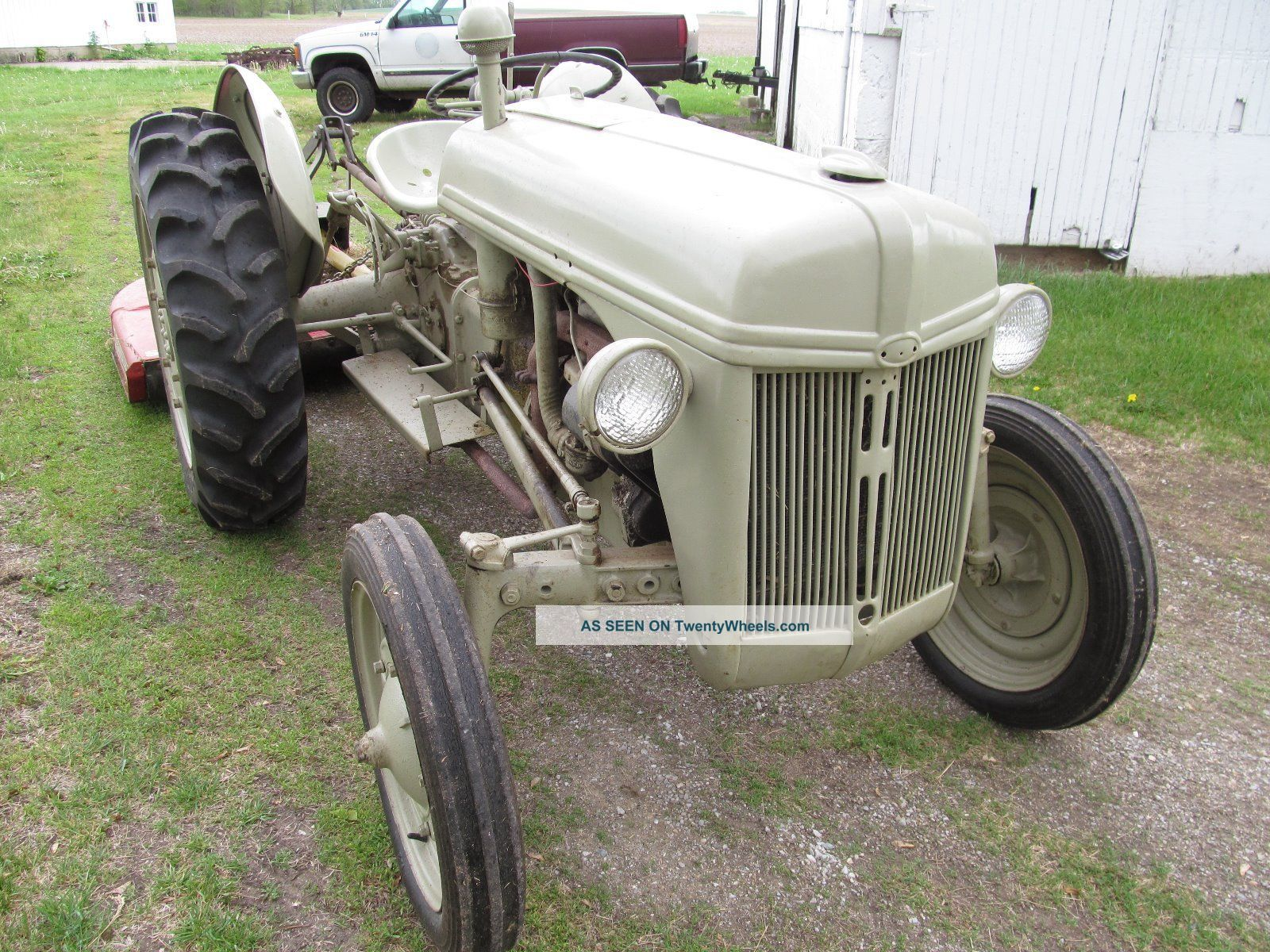 1941 Ford 9n Tractor : Ford n tractor manual