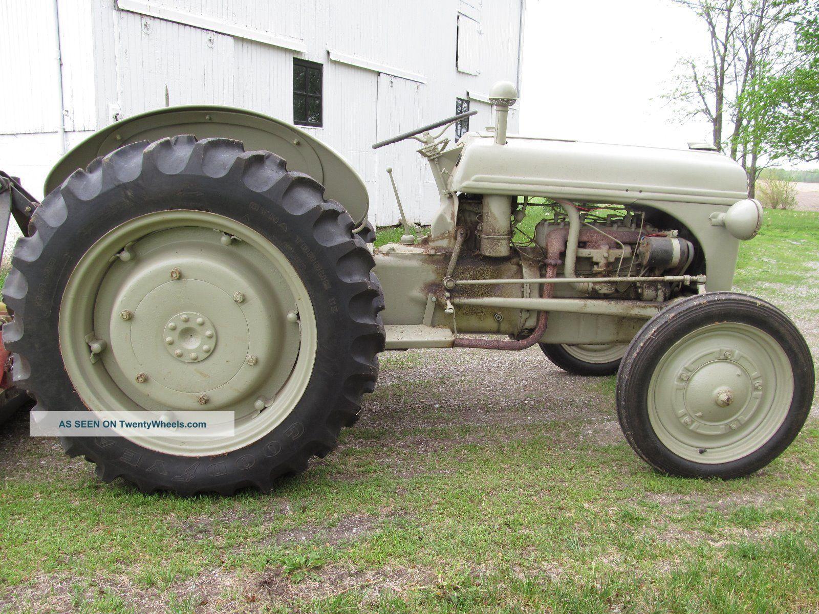 Ford 9n Mower : Ford n tractor manual