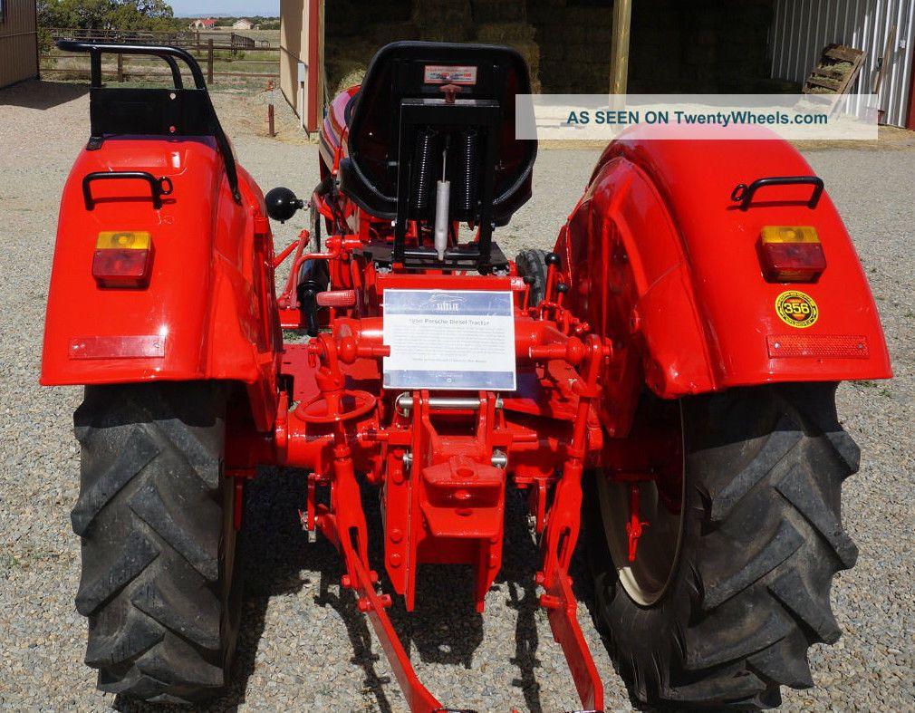 Porsche Standard Star Diesel Tractor Lgw