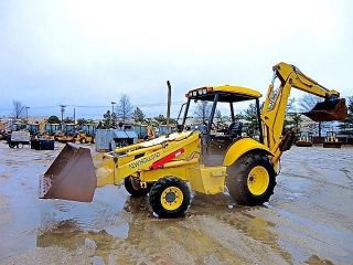 2005 Holland Lb75b Backhoe Loader Diesel Excavator Dozer - photo