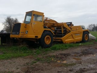 John Deere 762 Elevating Scraper Excellent Iowa Dirt Use Only Machine photo