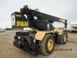 P & H Omega 20 Rough Terrain Crane photo