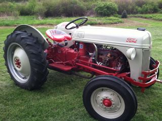1951 ford 8n tractor with howard gear reduction photo