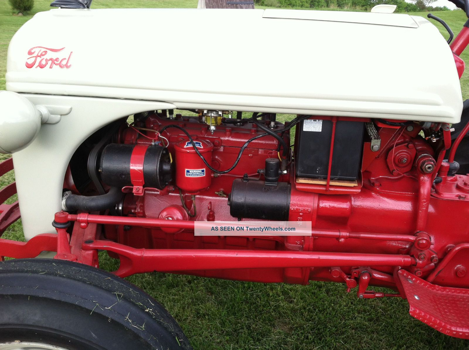 Ford N Tractor With Howard Gear Reduction Lgw
