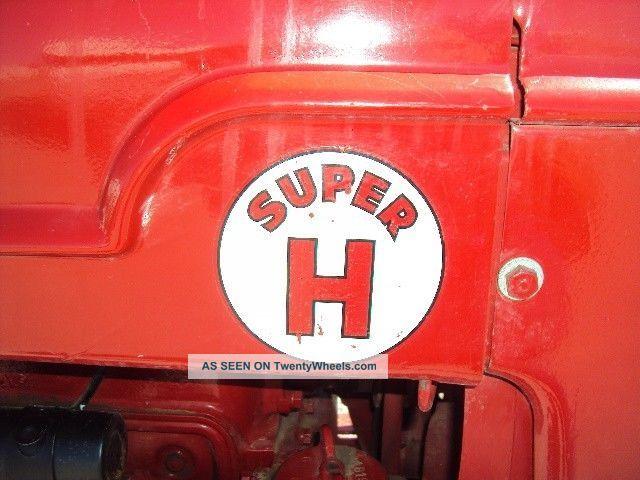 International Farmall H Vintage Restored Tractor Lgw