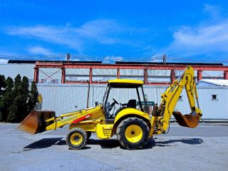 2005 Holland Lb75b Loader Backhoe - Diesel - Excavator - Dozer photo