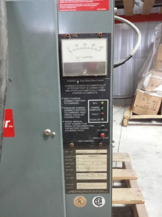Hobart 36 Volt 36v Accu Charger For A Electric Forklift photo