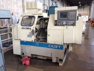 Okuma Cadet Lnc - 8bb Cnc Turning Center Cnc Lathe 1996 photo