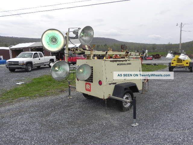 Ingersoll Rand L6 Portable Light Tower Light Plant Kubota