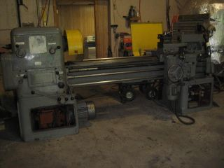 Metal Production Lathe photo