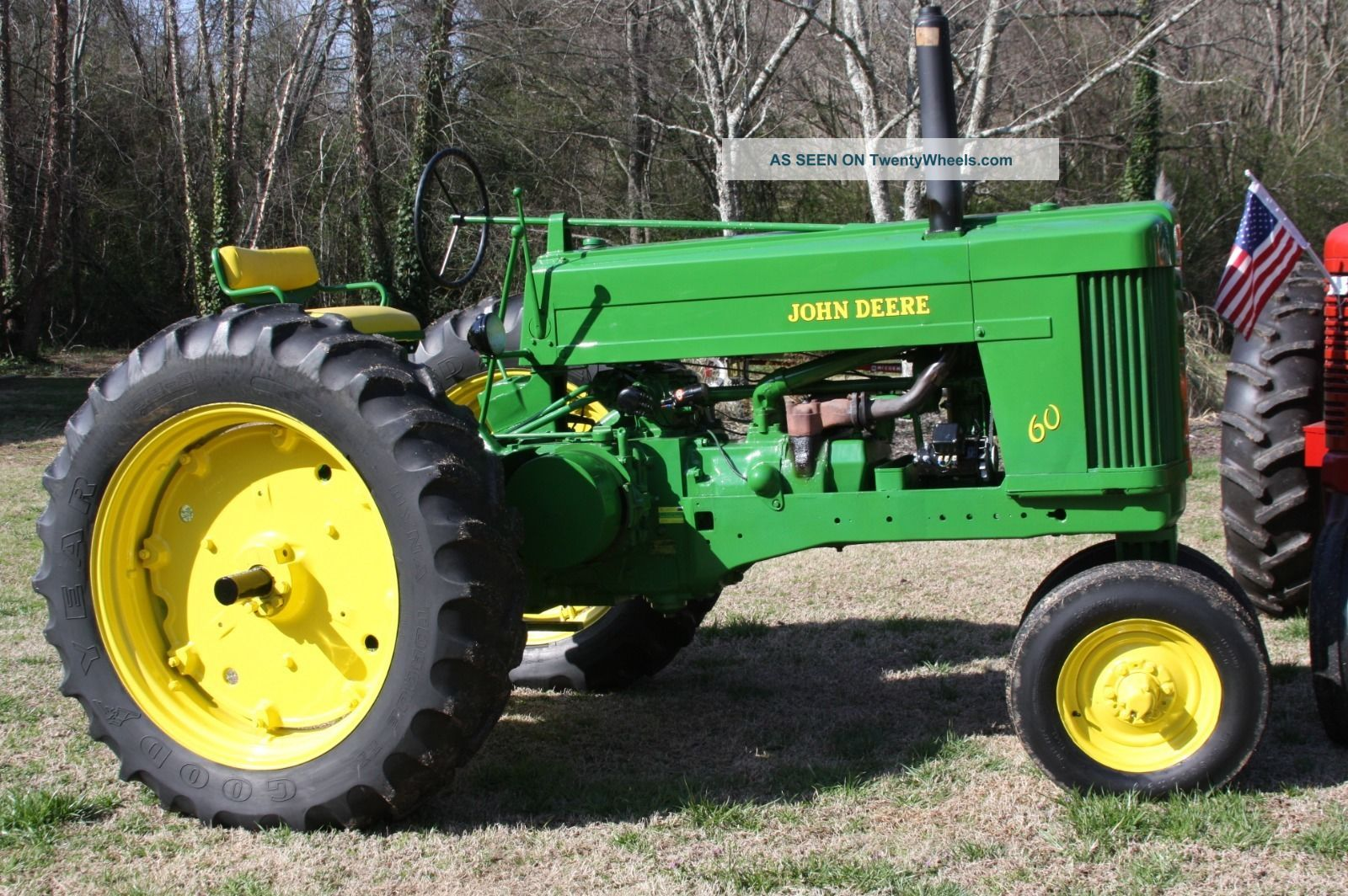 John Deere 60 Engine : John deere model dual fuel tractor restored
