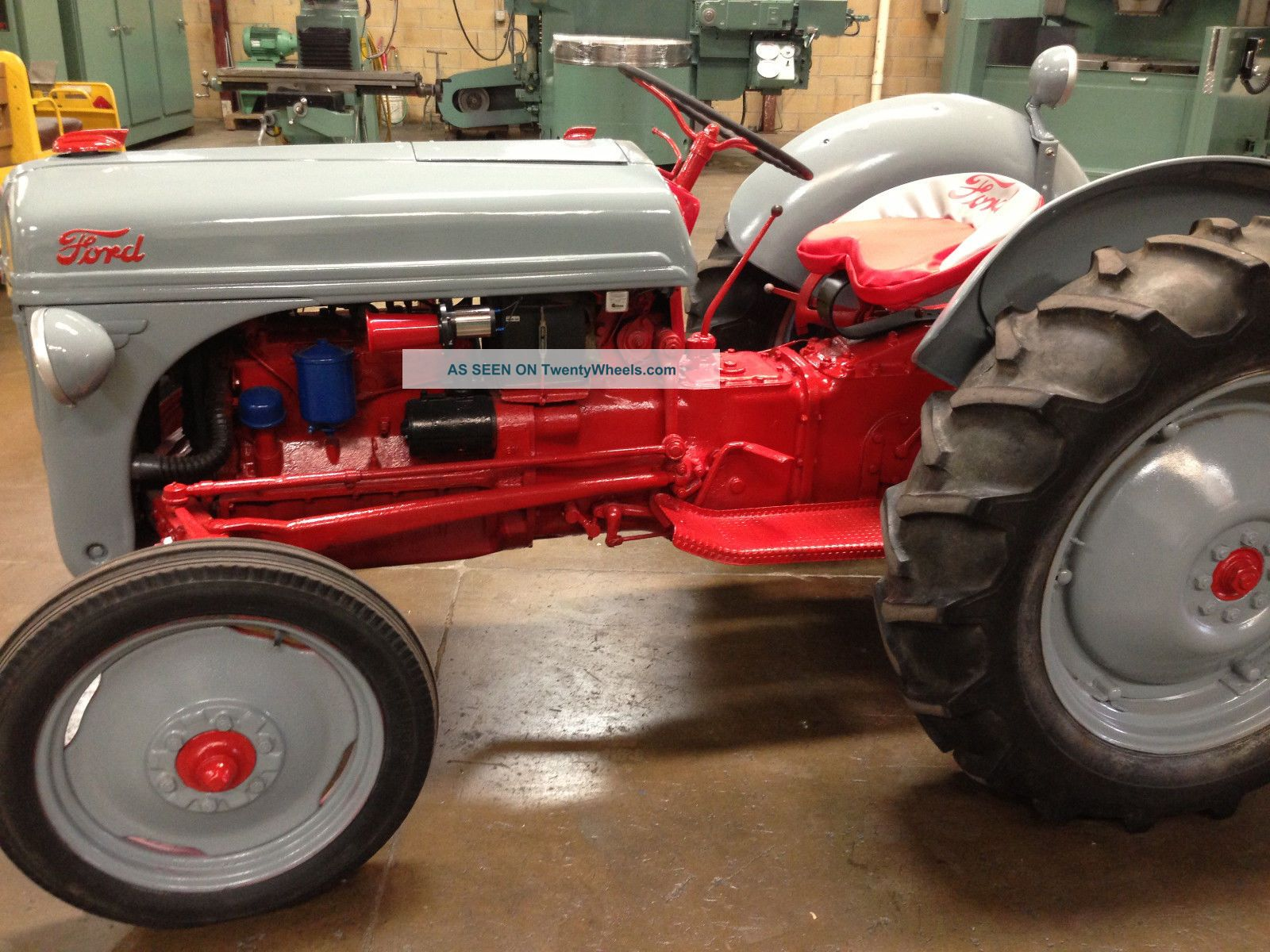 1950 Ford 8n Tractor Parts : Ford n tractor value autos post