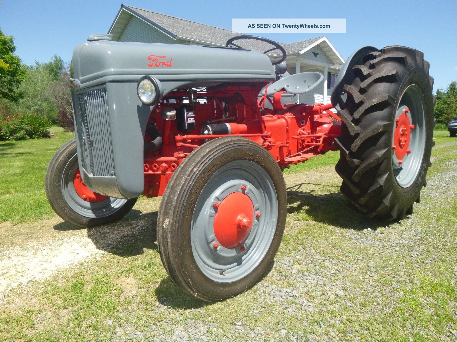 Ford Tractor Rims : Ford jubilee wiring diagram get free image