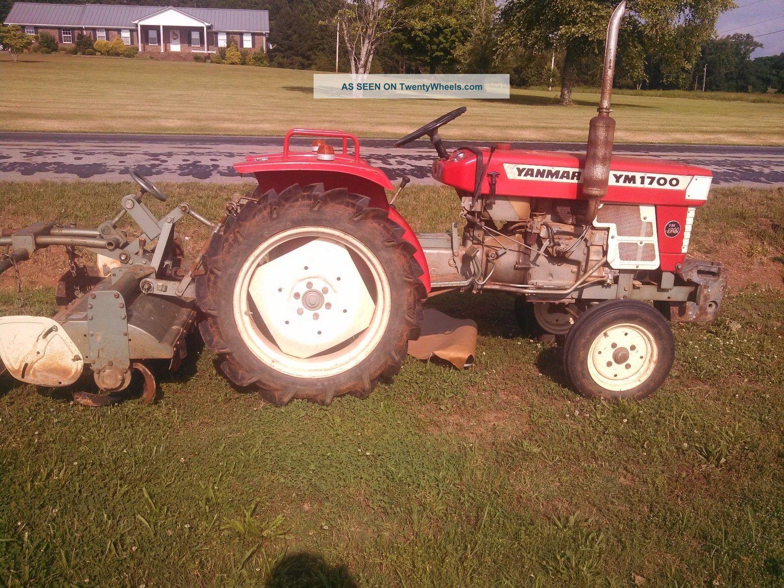 Antique Yanmar Tractors : Yanmar tractor w tiller