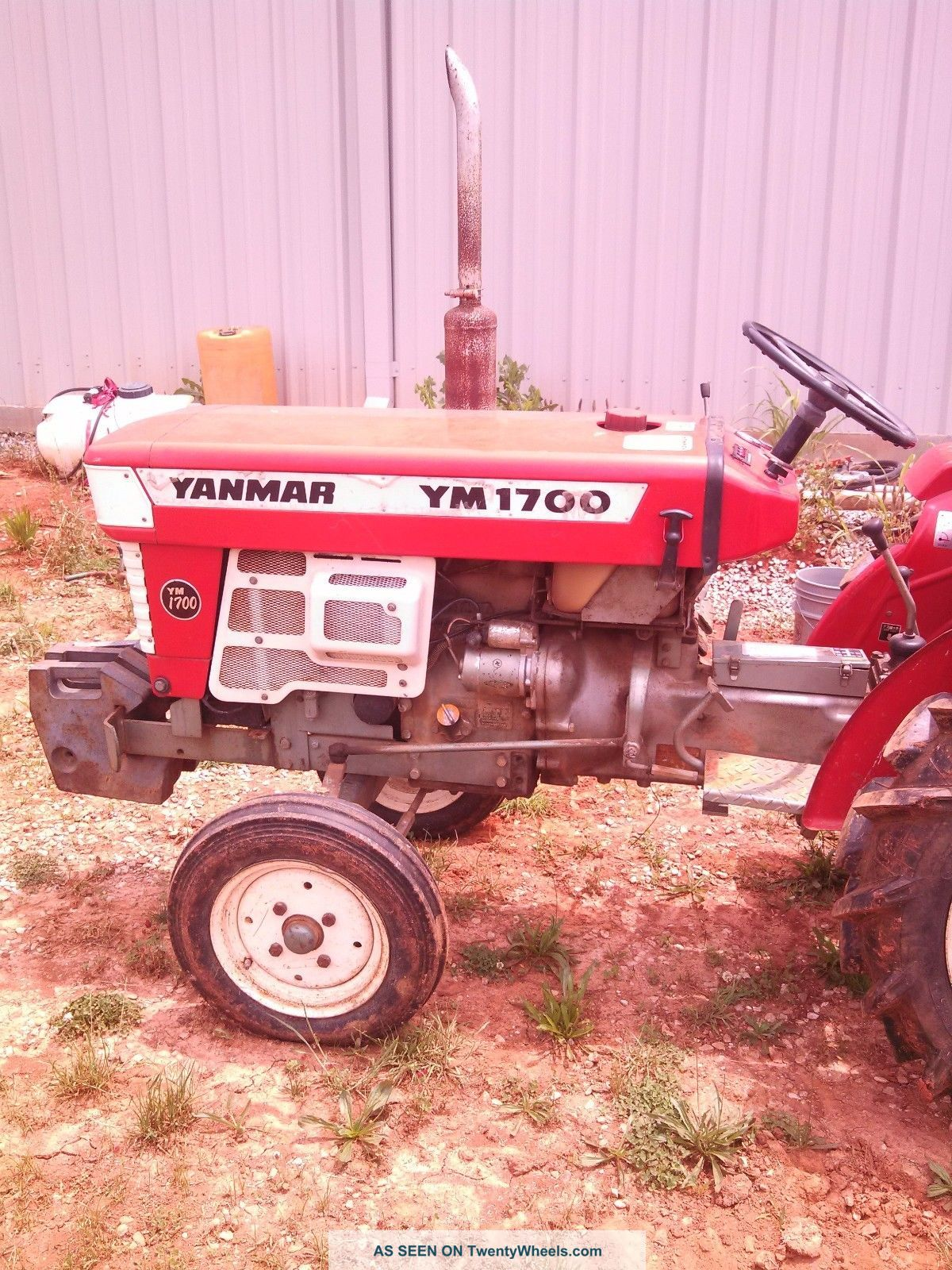 Yanmar Tractor 2 Wheel : Yanmar tractor w tiller