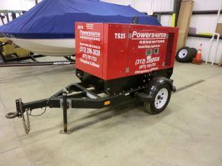20kw Trailer Mount Diesel Generator (isuzu Diesel) photo