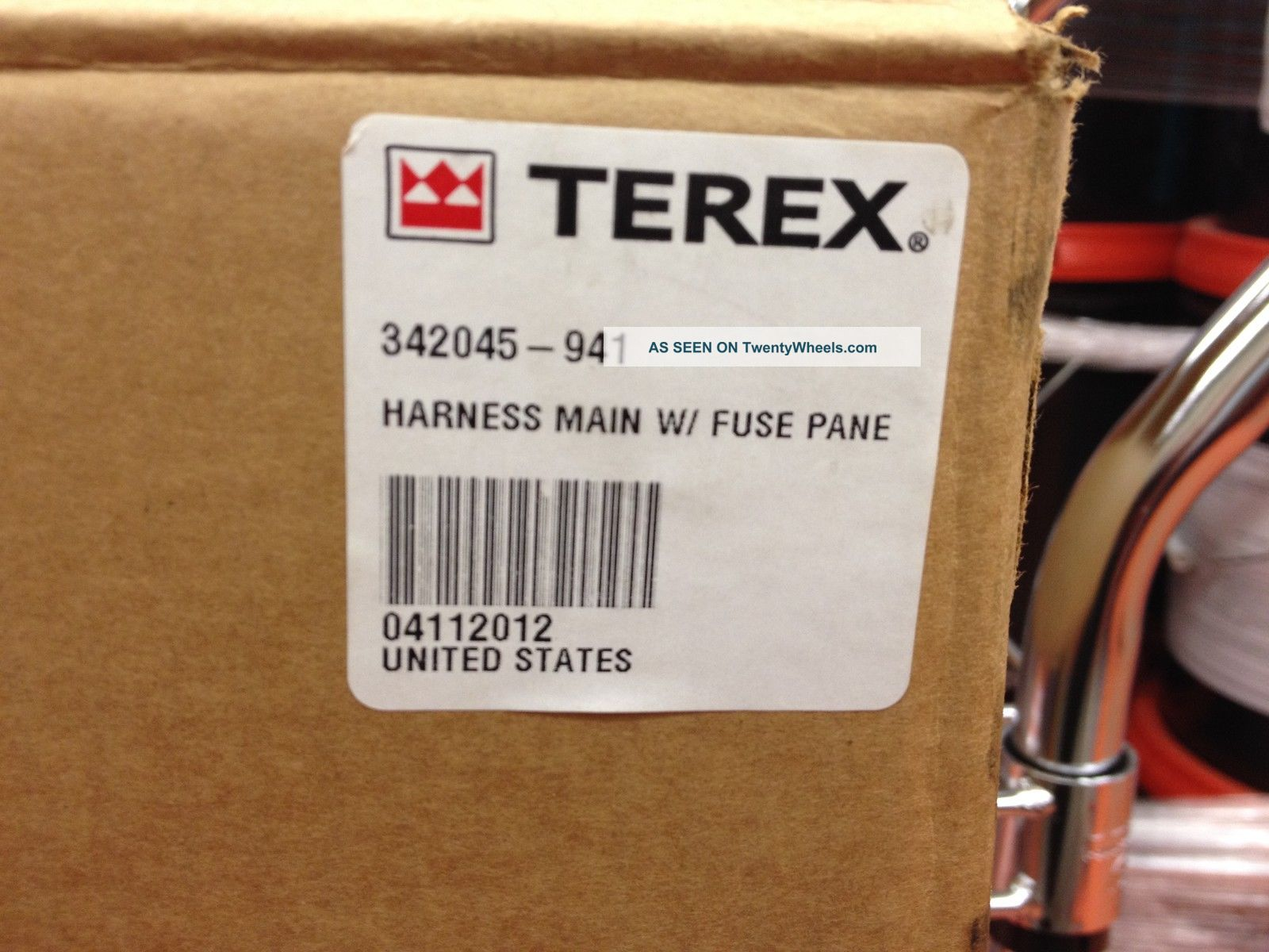 terex wire harness