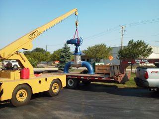 Crane Drott 85rm2 Carry Deck photo