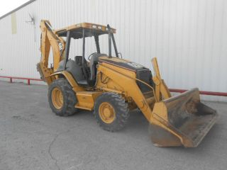 2005 Caterpillar 416d Backhoe Loader photo