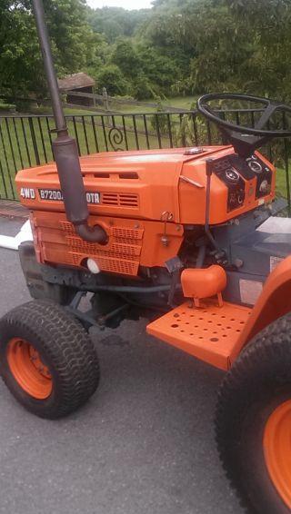 Kubota B7200 Tractor Seat : Heavy equipment tractors commercial vehicle museum