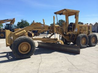 Cat Caterpillar 140 G Motor Road Grader photo