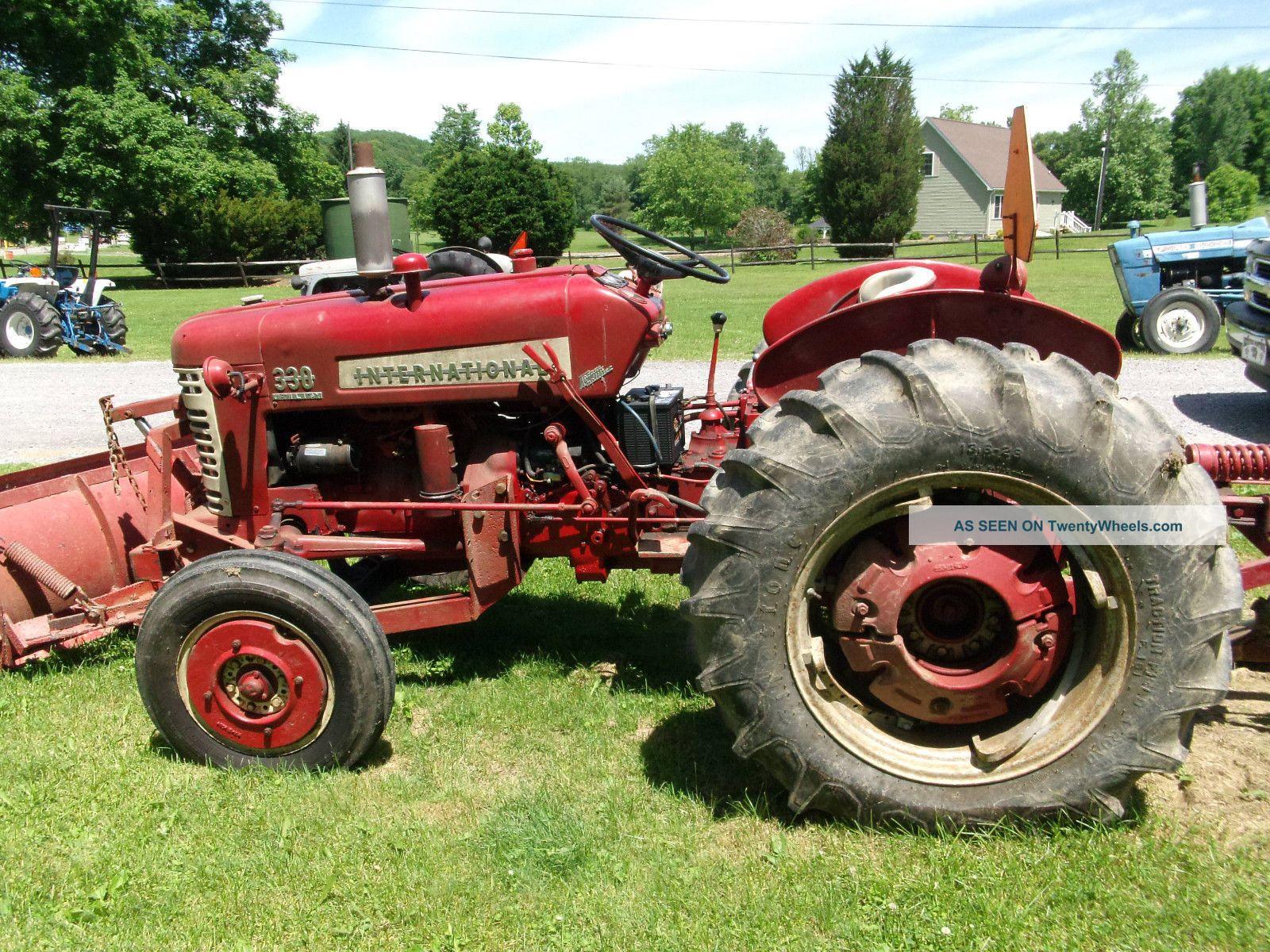 Antique International Tractor Wheel : Vintage farmall tubezzz porn photos