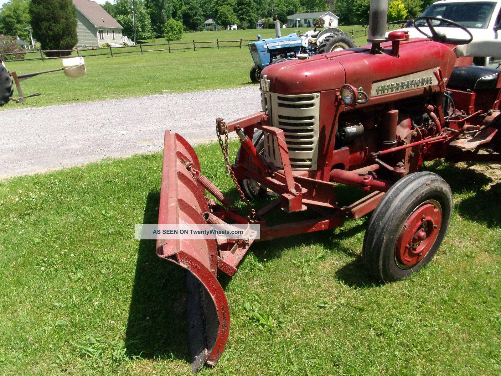 Antique International Tractor Wheel : Farmall international utility tractor antique model