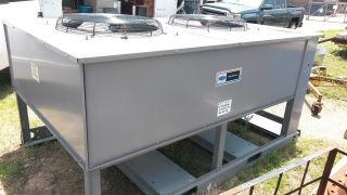 2006 Model 25 Ton Carrier Chiller Unit And Condenser photo