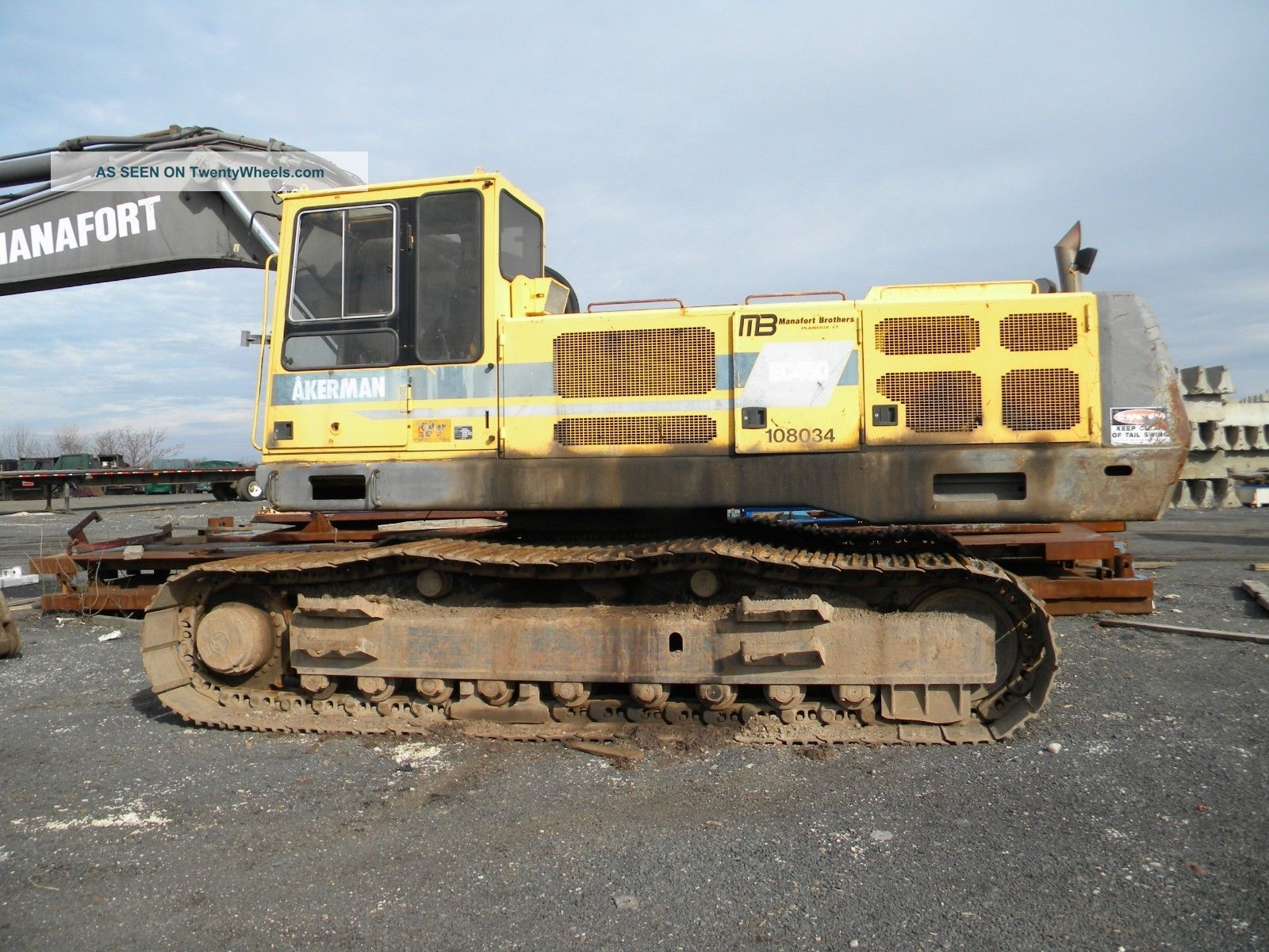 Volvo Ec450 Excavator